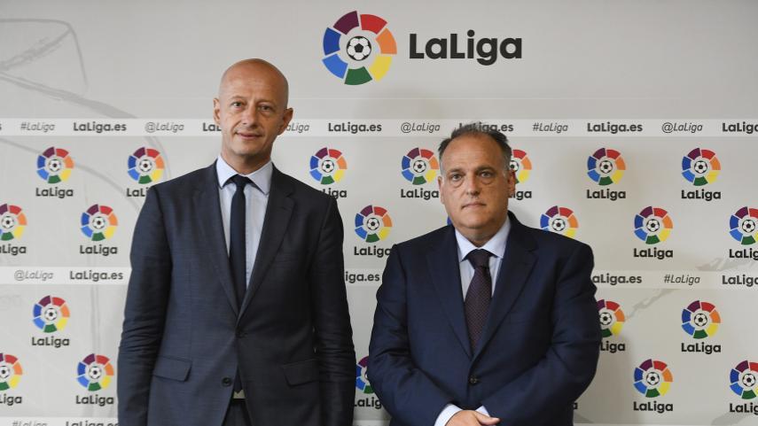 LaLiga Santander alcanzó el récord de inversión de 553 millones de euros, según el informe 'Football Transfer Review'