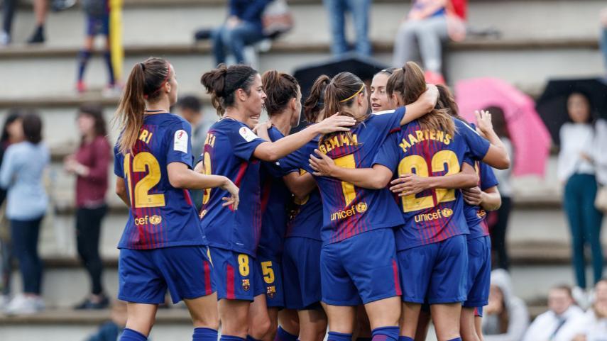 El Barcelona, más líder de la Liga Femenina Iberdrola