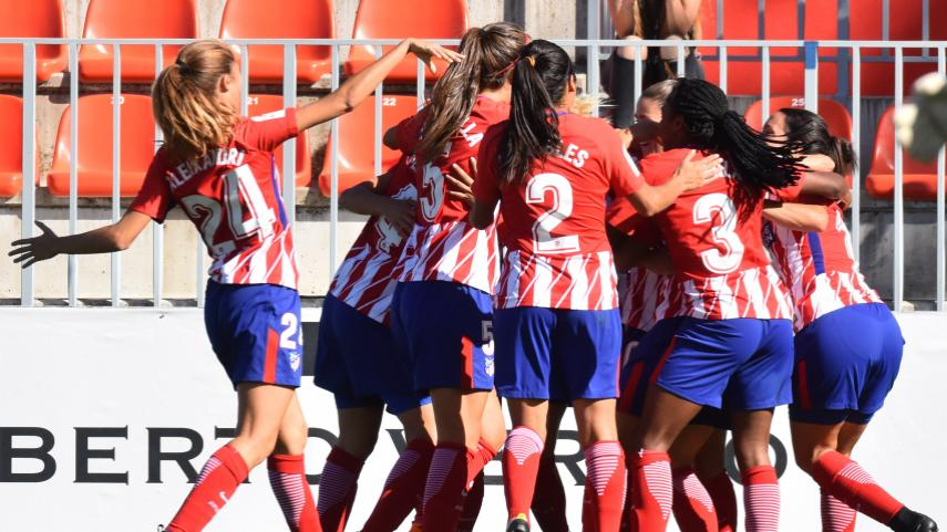 El At. Madrid Femenino vence gracias a un gol de Sosa