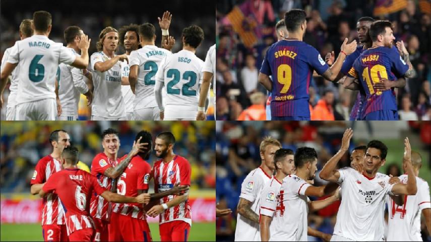 Real Madrid, Barcelona, Atlético y Sevilla comienzan su andadura en Champions