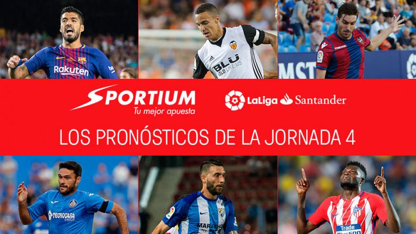 Las recomendaciones de Sportium para la jornada 4 de LaLiga Santander