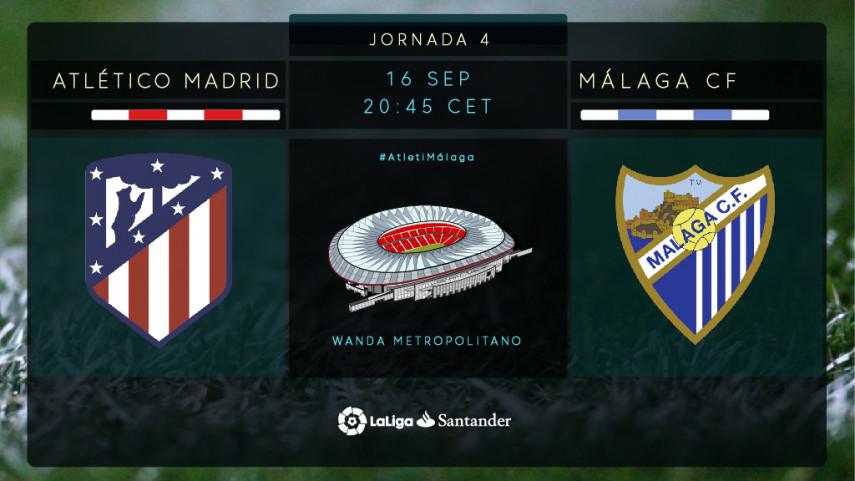 El Wanda Metropolitano abre las puertas ante el Málaga