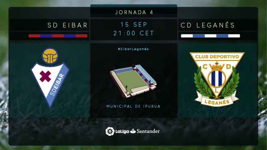 Eibar - Leganés: El sueño de LaLiga Santander continúa