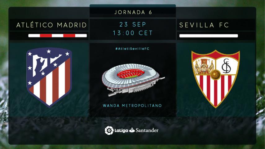 Atlético - Sevilla FC: Un partido con muchos alicientes