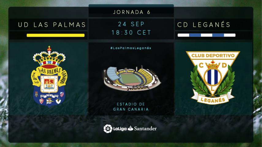 Las Palmas y Leganés, a por su tercera victoria