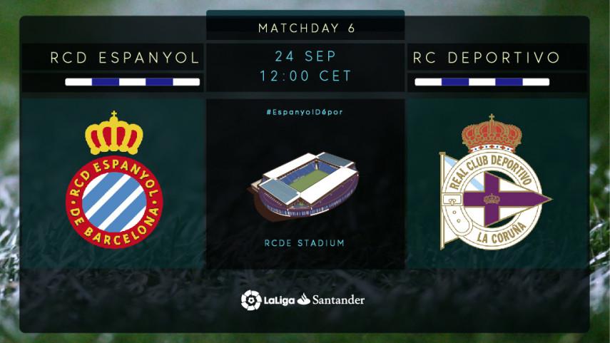Espanyol y Deportivo no quieren perder las buenas sensaciones
