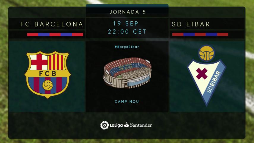 El Barcelona, a por el pleno de puntos