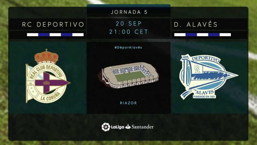 Nuevo punto de partida para Deportivo y Alavés