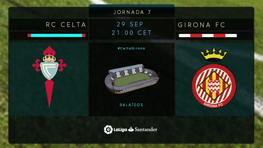 El Girona quiere reencontrarse ante un Celta al alza