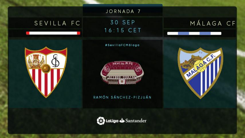 Sevilla y Málaga, a la caza de la victoria