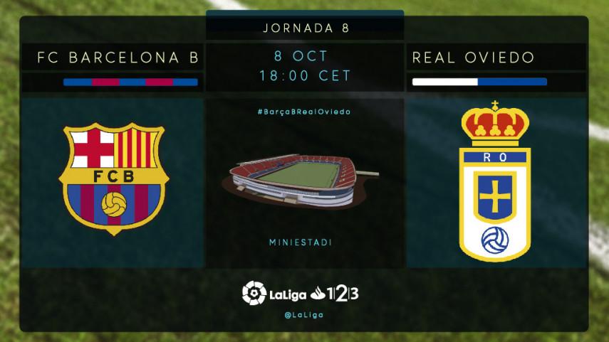 Barcelona B y Oviedo, a recuperar sensaciones