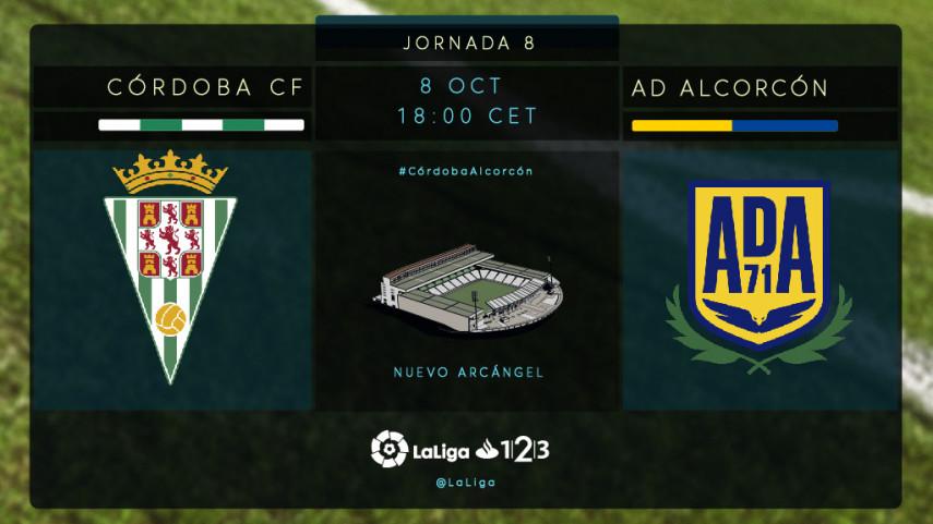 Córdoba y Alcorcón buscan tres puntos para empezar a mirar hacia arriba