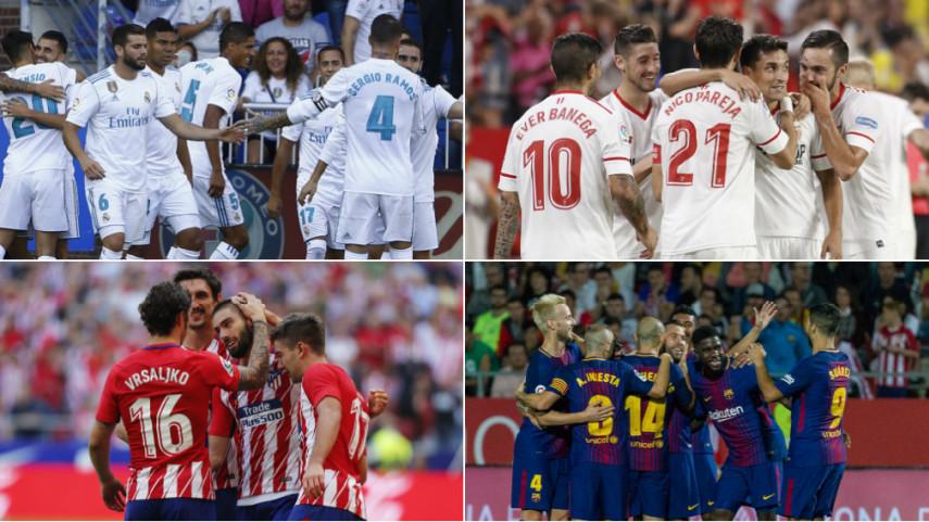 Exigente jornada para los equipos españoles en la Champions League