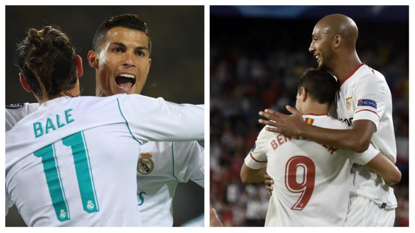 Real Madrid y Sevilla imponen su dominio en la Champions