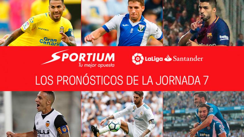 Las recomendaciones de Sportium para la jornada 7 de LaLiga Santander