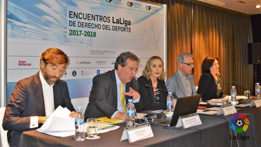 Inauguración de los Encuentros LaLiga de Derecho del Deporte 2017-2018