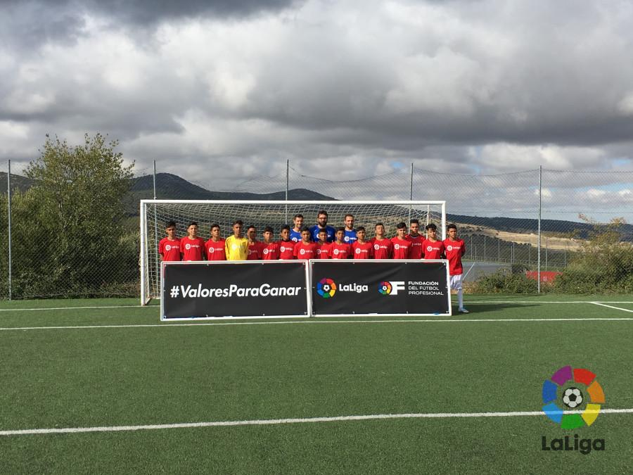 La Fundación de LaLiga pone en marcha el Campus de Fútbol y Valores