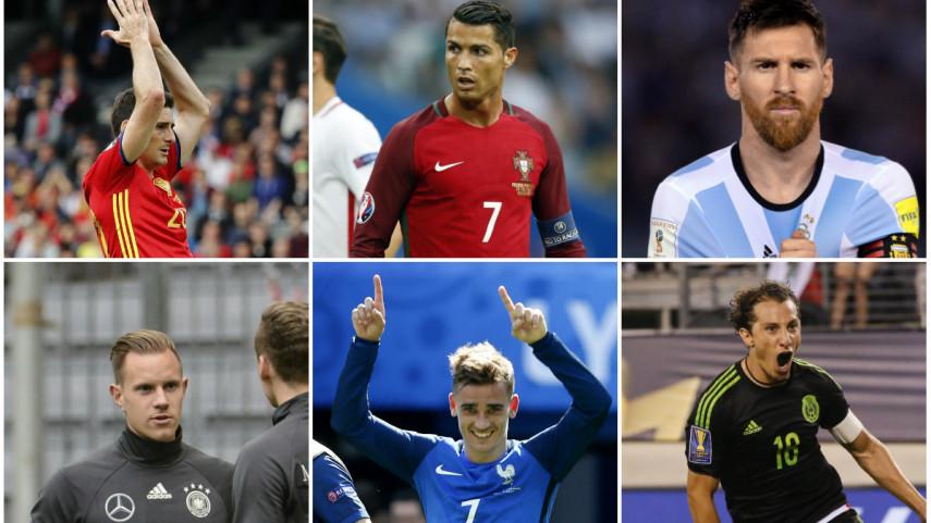 97 jugadores de LaLiga, convocados con sus selecciones absolutas