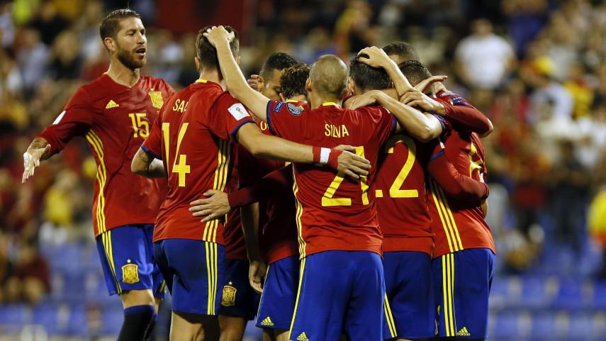 España certifica el pase al Mundial de Rusia 2018
