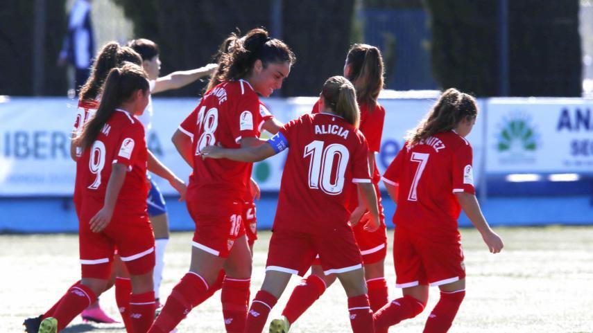 El Sevilla FC logra su primer triunfo del curso