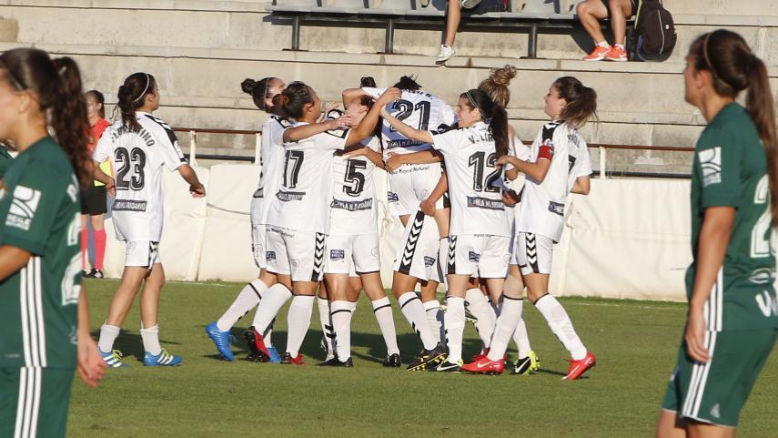 El F. Albacete se exhibe ante el R. Betis Féminas