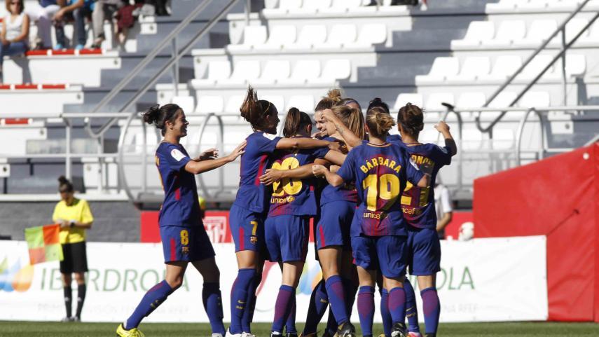 El FC Barcelona camina al paso de Martens
