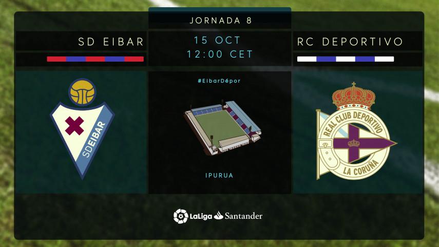 Punto de inflexión para SD Eibar y RC Deportivo