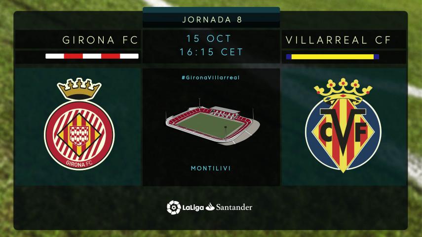 El Girona persigue su mejor versión ante el Villarreal