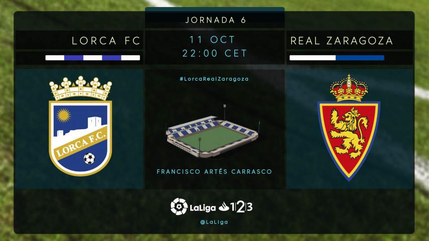 Lorca y Zaragoza, ante una oportunidad de escapar de la parte baja de la tabla