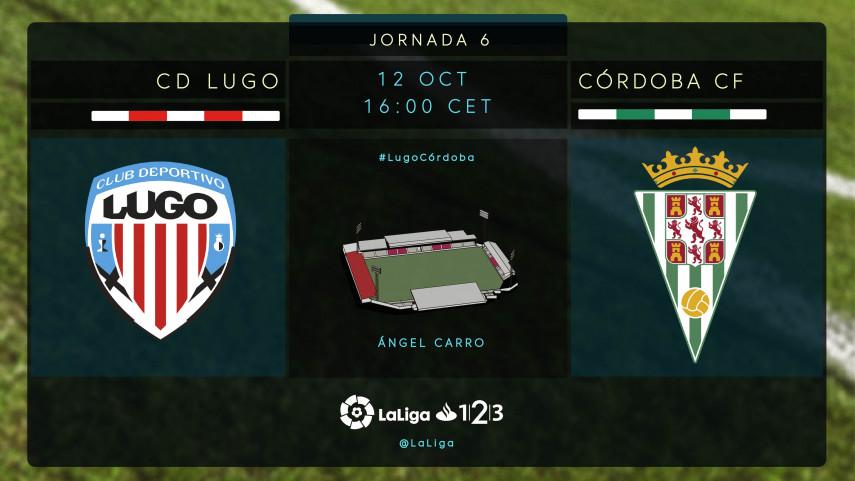 El Lugo aspira a retomar su buena racha ante el Córdoba