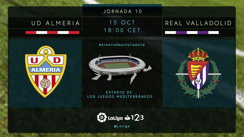 Almería y Valladolid quieren volver a ganar