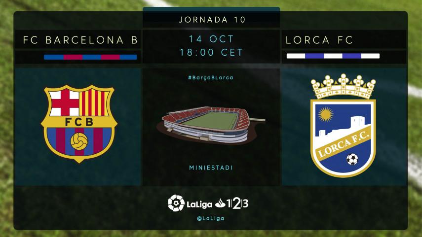 FC Barcelona B - Lorca, hora de volver a ganar