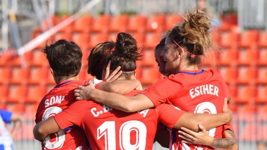El At. Madrid Femenino vence al Sporting Huelva y continúa invicto