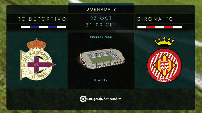 Dépor vs Girona: objetivo, alejarse de la zona baja