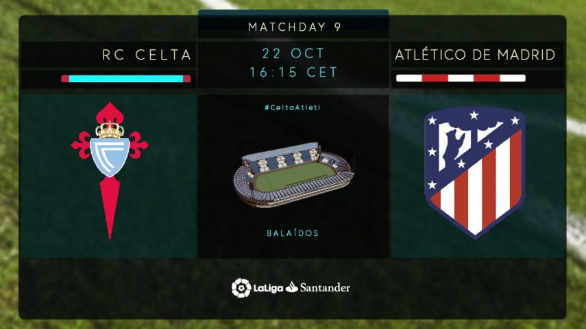 Un inspirado Celta recibe a un Atlético invicto