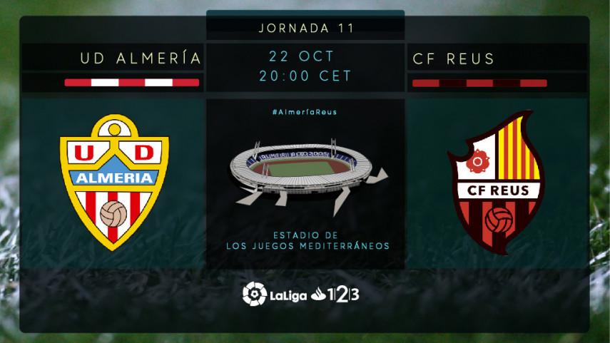 Almería y Reus quieren dar un paso adelante