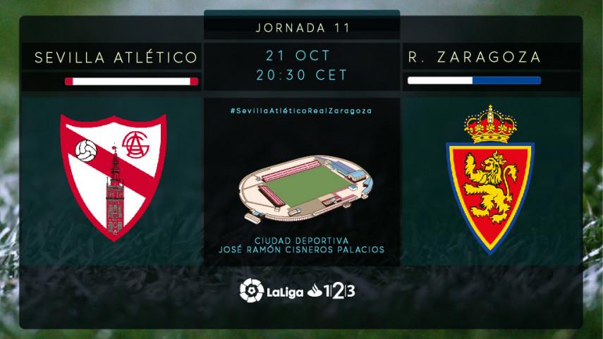 El Sevilla Atlético, obligado a ganar ante el Zaragoza