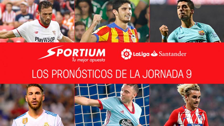 Las recomendaciones de Sportium para la jornada 9 de LaLiga Santander