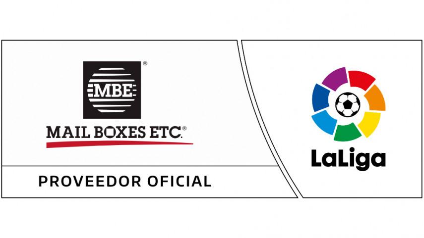 Mail Boxes Etc., nuevo Proveedor Oficial de LaLiga