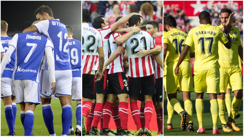Real Sociedad, Athletic y Villarreal afrontan una jornada trascendental en Europa