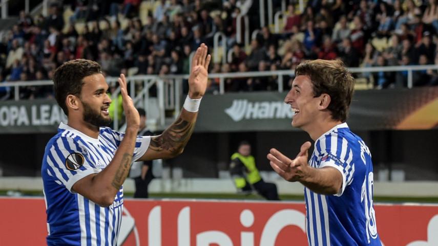 Suerte dispar para los equipos españoles en la Europa League