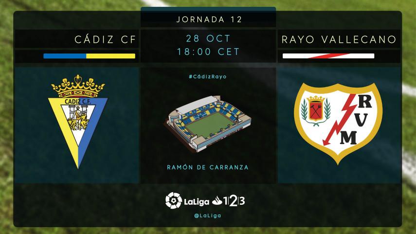 No es un partido cualquiera para Cádiz y Rayo Vallecano
