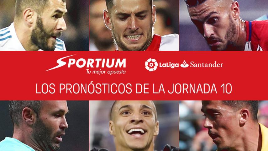 Las recomendaciones de Sportium para la jornada 10 de LaLiga Santander