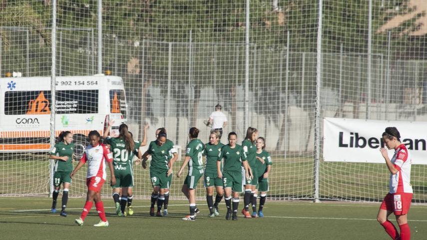 El R. Betis Féminas suma y sigue en la Liga Iberdrola
