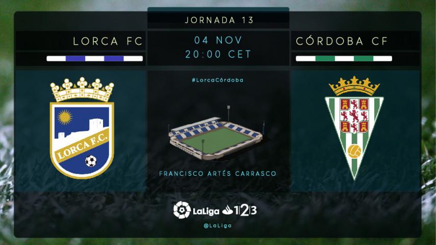 Lorca y Córdoba buscan situarse en zona de salvación