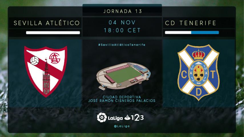 Sevilla Atlético y CD Tenerife no quieren seguir abonados al empate