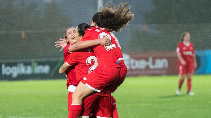 El Sevilla se lleva los tres puntos de Zubieta