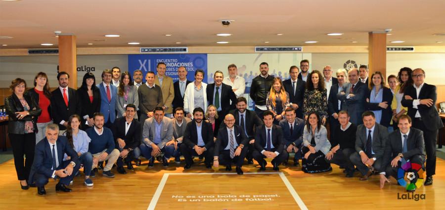 Celebrado el XI Encuentro de Fundaciones de Clubes de Fútbol Profesional