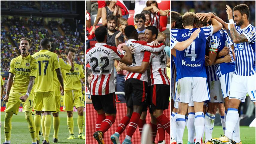 Jornada decisiva para Villarreal, Athletic y Real Sociedad en la Europa League