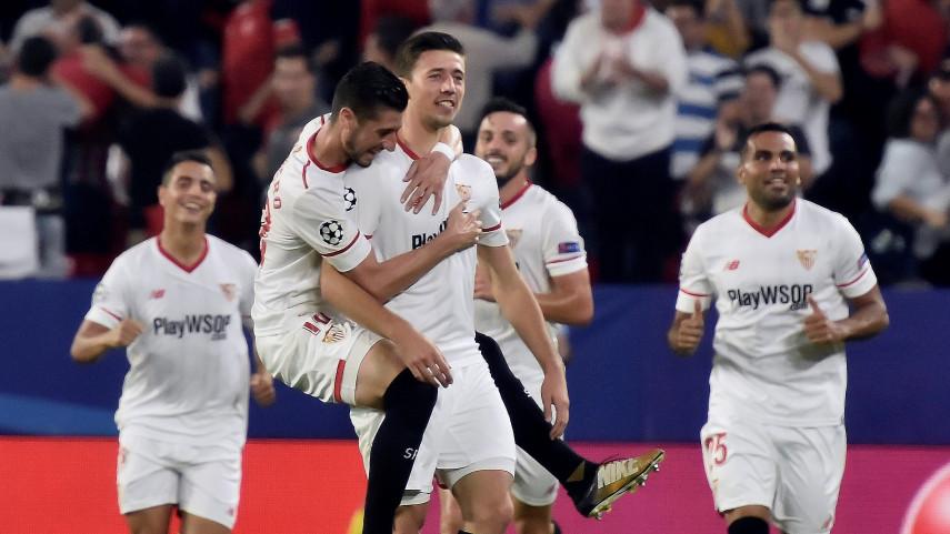 Cara y cruz para Sevilla y Real Madrid en la Champions